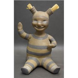 JEMEZ POTTERY FIGURE (WALL)