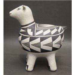 ACOMA POTTERY SHEEP (GARCIA)