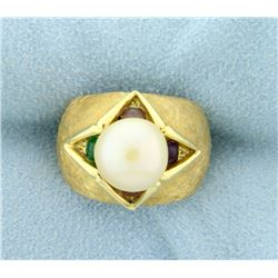 Pearl Fashion Ring