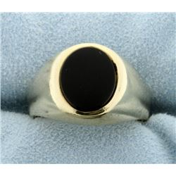 5ct Onyx Ring