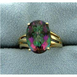 6 ct Mystic Topaz Ring