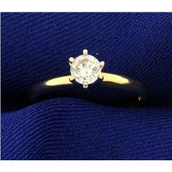.3ct Solitaire Diamond Ring