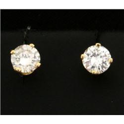 .6ct TW Diamond Stud Earrings