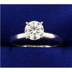 1ct Solitaire Diamond Engagement Ring