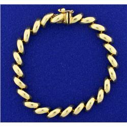 7 1/4 Inch San Marco Link Bracelet