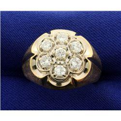 Men's 1ct TW Diamond Ring