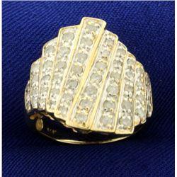 1ct TW Diamond Designer Ring in 14k Gold
