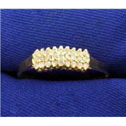 Over 1/4ct TW Diamond Ring in 14K Yellow Gold