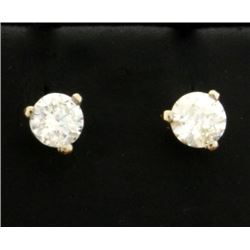 .4ct Total Weight Diamond Stud Earrings