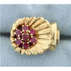 Natural Ruby Pinky ring