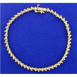 3/4ct TW Diamond Tennis Bracelet