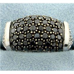 2ct TW Black and White Diamond Ring