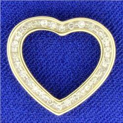 .3 Ct TW Diamond Heart Pendant