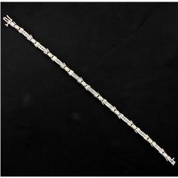 1 ct TW Diamond Line Bracelet