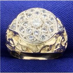 Vintage 2/3ct TW Diamond Ring