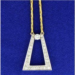 1/2 ct TW Diamond Necklace