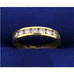 1/2ct TW Diamond Band Ring