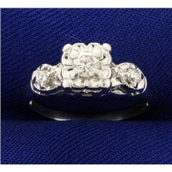 1/4ct TW Diamond Ring