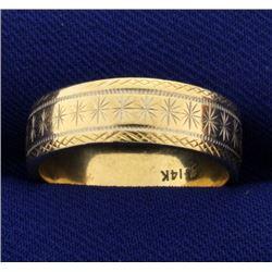 Unique Wedding Band Ring