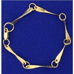 7 1/2 Inch Fashion Bracelet
