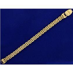 7 1/2 Inch Woven Link Bracelet