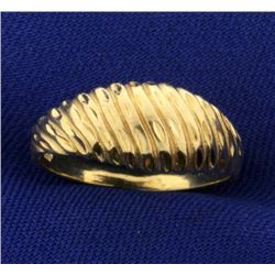 Dome Style Designer Ring