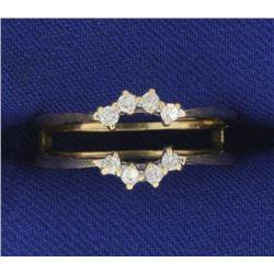 Diamond Ring Jacket in 14K Yellow Gold