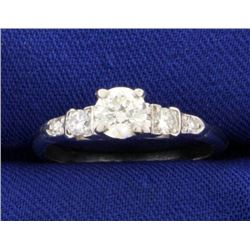 2/3ct TW Diamond Engagement Ring in Platinum