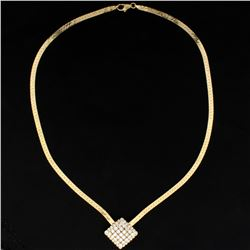2ct Total Weight Diamond Necklace