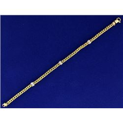 Designer Link Bracelet