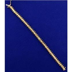 4ct TW Diamond Tennis Bracelet
