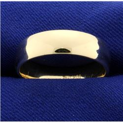 Gold Band Wedding Ring