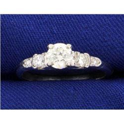 2/3ct TW Diamond Engagement Ring in Platinum