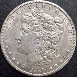 1889-CC Morgan Silver Dollar - HIGH GRADE - RARE KEY DATE!