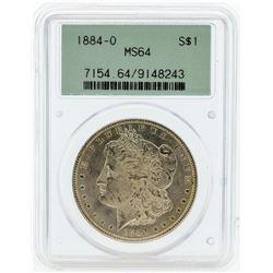 1884-O PCGS MS64 Morgan Silver Dollar