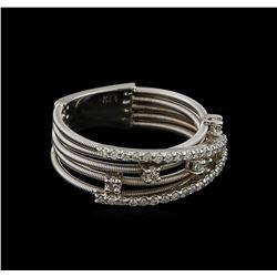 0.36 ctw Diamond Ring - 14KT White Gold