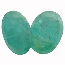 8.61 ctw Oval Mixed Emerald Parcel