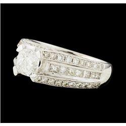 1.96 ctw Diamond Ring - 18KT White Gold