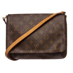 Louis Vuitton Monogram Canvas Leather Tango Bag