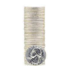 Tube of 40 1954D Washington Quarter Dollars