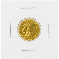 1914D $2.50 Indian Head Gold Coin