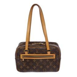 Louis Vuitton Monogram Canvas Leather Cite MM Shoulder Bag