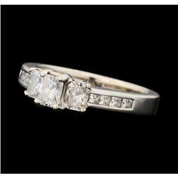 1.09 ctw Diamond Ring - 14KT White Gold