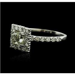 14KT White Gold 1.31 ctw Diamond Ring