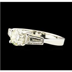1.23 ctw Diamond Ring - Platinum