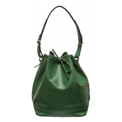 Louis Vuitton Green Epi Leather Noe GM Drawstring Sholder Bag