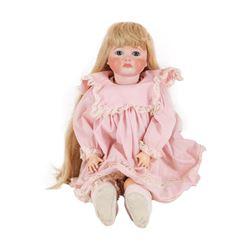 S.F.B.J. #252 Stamped Head Porcelain Doll with Original Clothes - Paris