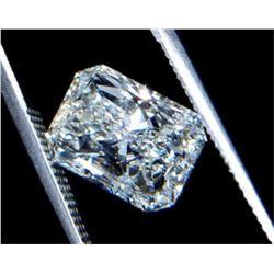 43ct Radiant Cut BIANCO Diamond