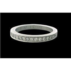 Tiffany & Co. Platinum Diamond Wedding Band Ring
