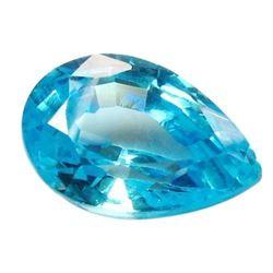 8ct Pear Shaped Blue BIANCO Diamond